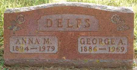 DELFS, ANNA M. - Minnehaha County, South Dakota | ANNA M. DELFS - South Dakota Gravestone Photos