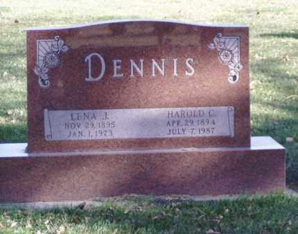 DENNIS, HAROLD C. - Minnehaha County, South Dakota | HAROLD C. DENNIS - South Dakota Gravestone Photos