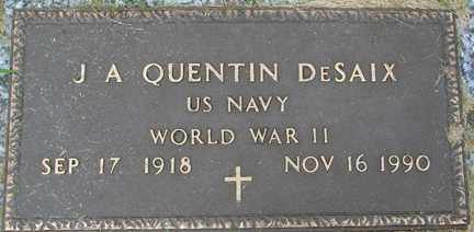 DESAIX, J.A. QUENTIN (WWII) - Minnehaha County, South Dakota | J.A. QUENTIN (WWII) DESAIX - South Dakota Gravestone Photos