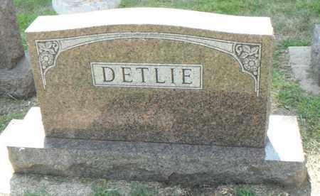 DETLIE, FAMILY STONE - Minnehaha County, South Dakota   FAMILY STONE DETLIE - South Dakota Gravestone Photos