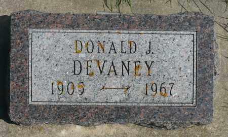 DEVANEY, DONALD J. - Minnehaha County, South Dakota | DONALD J. DEVANEY - South Dakota Gravestone Photos