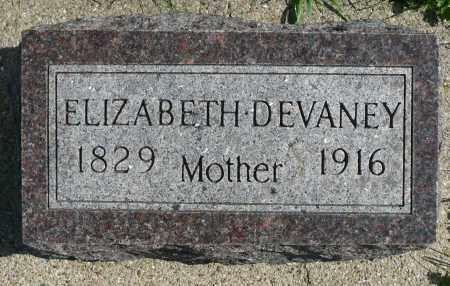 DEVANEY, ELIZABETH - Minnehaha County, South Dakota   ELIZABETH DEVANEY - South Dakota Gravestone Photos