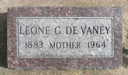 DEVANEY, LEONE G. - Minnehaha County, South Dakota   LEONE G. DEVANEY - South Dakota Gravestone Photos