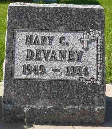 DEVANEY, MARY C. - Minnehaha County, South Dakota   MARY C. DEVANEY - South Dakota Gravestone Photos