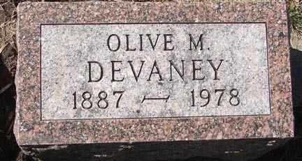 DEVANEY, OLIVE M. - Minnehaha County, South Dakota | OLIVE M. DEVANEY - South Dakota Gravestone Photos