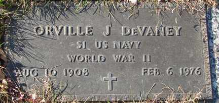 DEVANEY, ORVILLE J. (WWII) - Minnehaha County, South Dakota | ORVILLE J. (WWII) DEVANEY - South Dakota Gravestone Photos