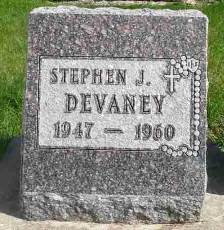 DEVANEY, STEPHEN J. - Minnehaha County, South Dakota | STEPHEN J. DEVANEY - South Dakota Gravestone Photos