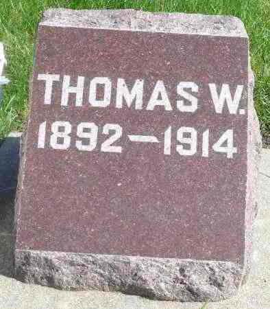 DEVANEY, THOMAS W. - Minnehaha County, South Dakota | THOMAS W. DEVANEY - South Dakota Gravestone Photos