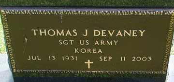 DEVANEY, THOMAS J. (KOREA) - Minnehaha County, South Dakota   THOMAS J. (KOREA) DEVANEY - South Dakota Gravestone Photos