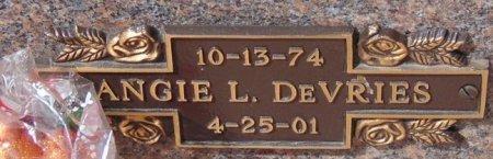 DEVRIES, ANGIE L. - Minnehaha County, South Dakota | ANGIE L. DEVRIES - South Dakota Gravestone Photos