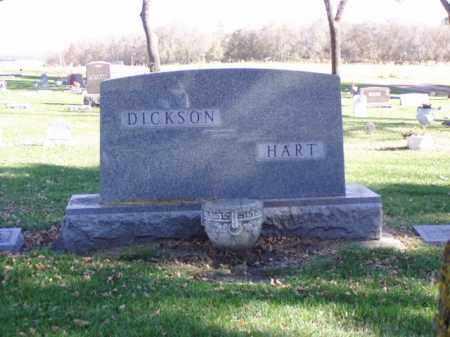 DICKSON / HART, FAMILY MARKER - Minnehaha County, South Dakota | FAMILY MARKER DICKSON / HART - South Dakota Gravestone Photos