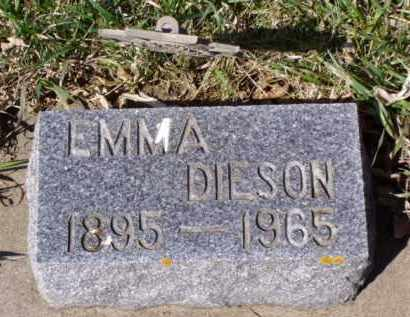 DIESON, EMMA - Minnehaha County, South Dakota | EMMA DIESON - South Dakota Gravestone Photos
