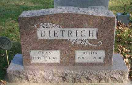 DIETRICH, CHAN - Minnehaha County, South Dakota | CHAN DIETRICH - South Dakota Gravestone Photos