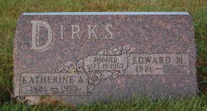 DIRKS, KATHERINE A. - Minnehaha County, South Dakota | KATHERINE A. DIRKS - South Dakota Gravestone Photos