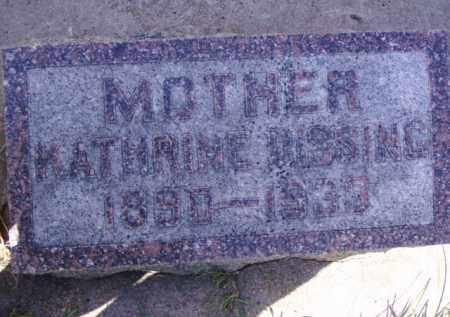 DISSING, KATHRINE - Minnehaha County, South Dakota | KATHRINE DISSING - South Dakota Gravestone Photos