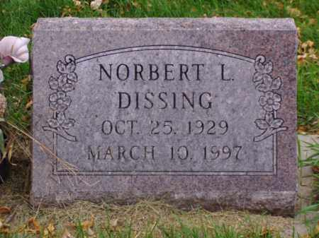 DISSING, NORBERT L. - Minnehaha County, South Dakota | NORBERT L. DISSING - South Dakota Gravestone Photos
