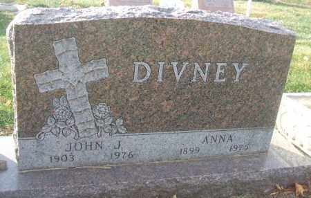 DIVNEY, JOHN J. - Minnehaha County, South Dakota | JOHN J. DIVNEY - South Dakota Gravestone Photos
