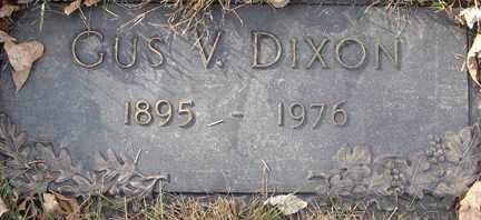 DIXON, GUS V. - Minnehaha County, South Dakota | GUS V. DIXON - South Dakota Gravestone Photos