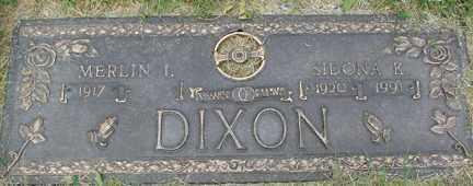 DIXON, SIDONA R. - Minnehaha County, South Dakota   SIDONA R. DIXON - South Dakota Gravestone Photos