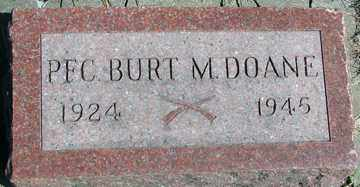DOANE, BURT M. - Minnehaha County, South Dakota | BURT M. DOANE - South Dakota Gravestone Photos