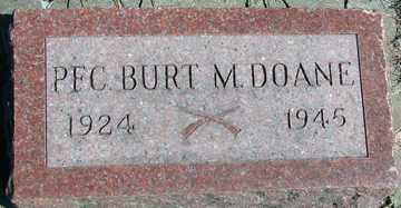DOANE, BURT M. - Minnehaha County, South Dakota | BURT M. DOANE - South Dakota Gravestone Photos