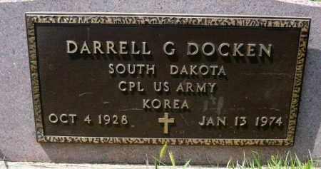 DOCKEN, DARRELL G. (KOREA) - Minnehaha County, South Dakota | DARRELL G. (KOREA) DOCKEN - South Dakota Gravestone Photos