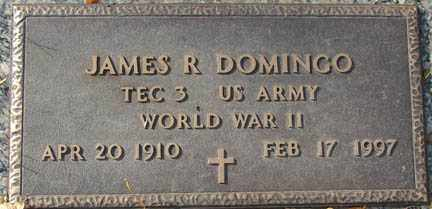 DOMINGO, JAMES R. - Minnehaha County, South Dakota | JAMES R. DOMINGO - South Dakota Gravestone Photos