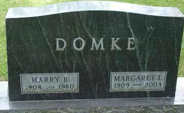 BOLSOVER DOMKE, MARGARET L. - Minnehaha County, South Dakota | MARGARET L. BOLSOVER DOMKE - South Dakota Gravestone Photos