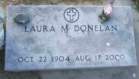 DONELAN, LAURA M. - Minnehaha County, South Dakota | LAURA M. DONELAN - South Dakota Gravestone Photos