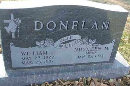 DONELAN, WILLIAM T. - Minnehaha County, South Dakota | WILLIAM T. DONELAN - South Dakota Gravestone Photos