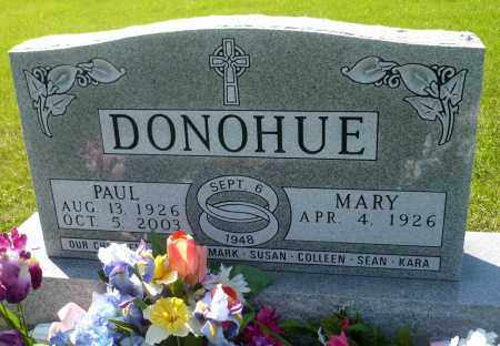 DONOHUE, MARY - Minnehaha County, South Dakota | MARY DONOHUE - South Dakota Gravestone Photos