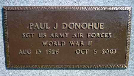 DONOHUE, PAUL J. (WWII) - Minnehaha County, South Dakota | PAUL J. (WWII) DONOHUE - South Dakota Gravestone Photos