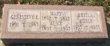 DONOVAN, ALICE - Minnehaha County, South Dakota | ALICE DONOVAN - South Dakota Gravestone Photos