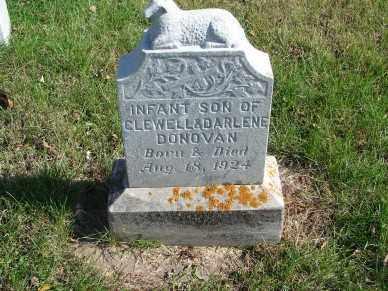 DONOVAN, INFANT SON - Minnehaha County, South Dakota | INFANT SON DONOVAN - South Dakota Gravestone Photos