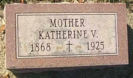 DONOVAN, KATHERINE V. - Minnehaha County, South Dakota | KATHERINE V. DONOVAN - South Dakota Gravestone Photos