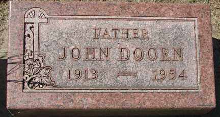 DOORN, JOHN - Minnehaha County, South Dakota | JOHN DOORN - South Dakota Gravestone Photos