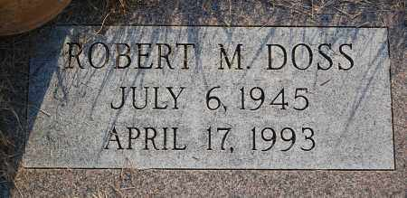 DOSS, ROBERT M. - Minnehaha County, South Dakota | ROBERT M. DOSS - South Dakota Gravestone Photos