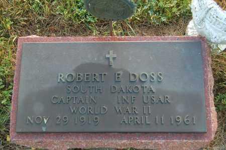 DOSS, ROBERT E. (WW II) - Minnehaha County, South Dakota | ROBERT E. (WW II) DOSS - South Dakota Gravestone Photos