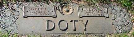 BUTTON DOTY, EVALINA ELIZA - Minnehaha County, South Dakota | EVALINA ELIZA BUTTON DOTY - South Dakota Gravestone Photos