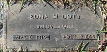DOTY, EDNA M. - Minnehaha County, South Dakota | EDNA M. DOTY - South Dakota Gravestone Photos