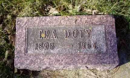 DOTY, IRA - Minnehaha County, South Dakota   IRA DOTY - South Dakota Gravestone Photos