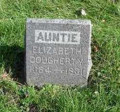 DOUGHERTY, ELIZABETH - Minnehaha County, South Dakota | ELIZABETH DOUGHERTY - South Dakota Gravestone Photos