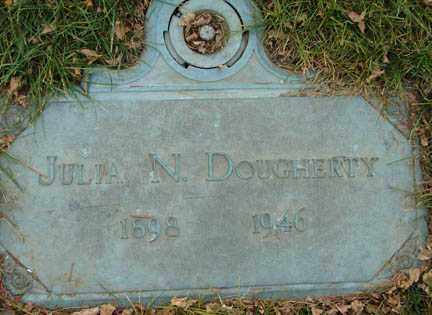 DOUGHERTY, JULIA N. - Minnehaha County, South Dakota | JULIA N. DOUGHERTY - South Dakota Gravestone Photos