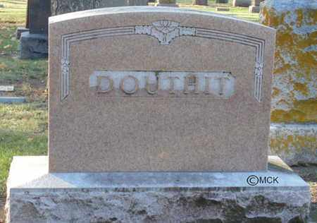 DOUTHIT, HEADSTONE - Minnehaha County, South Dakota | HEADSTONE DOUTHIT - South Dakota Gravestone Photos