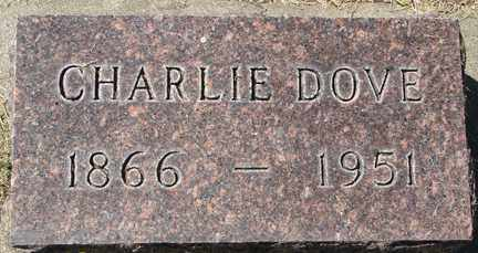 DOVE, CHARLIE - Minnehaha County, South Dakota   CHARLIE DOVE - South Dakota Gravestone Photos