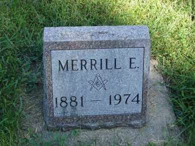 DOW, MERRILL E. - Minnehaha County, South Dakota | MERRILL E. DOW - South Dakota Gravestone Photos