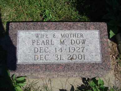 DOW, PEARL M. - Minnehaha County, South Dakota | PEARL M. DOW - South Dakota Gravestone Photos