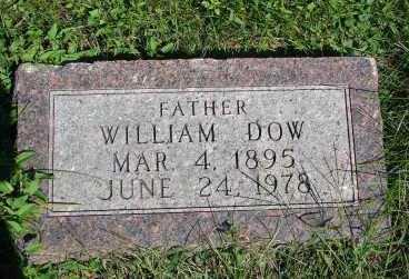 DOW, WILLIAM - Minnehaha County, South Dakota | WILLIAM DOW - South Dakota Gravestone Photos