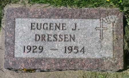 DRESSEN, EUGENE J. - Minnehaha County, South Dakota | EUGENE J. DRESSEN - South Dakota Gravestone Photos