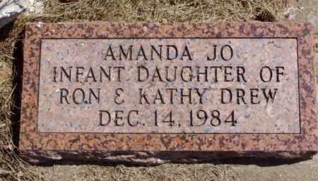 DREW, AMANDA JO - Minnehaha County, South Dakota | AMANDA JO DREW - South Dakota Gravestone Photos